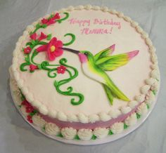 hummingbird cake design - Google Search