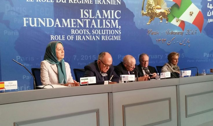 Maryam Rajavi:  Despite the most barbaric suppression scarcely equaled in today's world, the Iranian people have steadfastly refused to submit to this clerical regime. The mullahs' strategy to pursue their nuclear program and to export terrorism and fundamentalism has now failed. Social discontent and the organized resistance have brought the regime to an impasse.