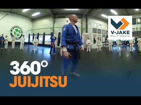 jiujitsu 360 graden karate oefening VR