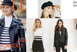 Get the look for less Gigi Hadid-vogue magazine