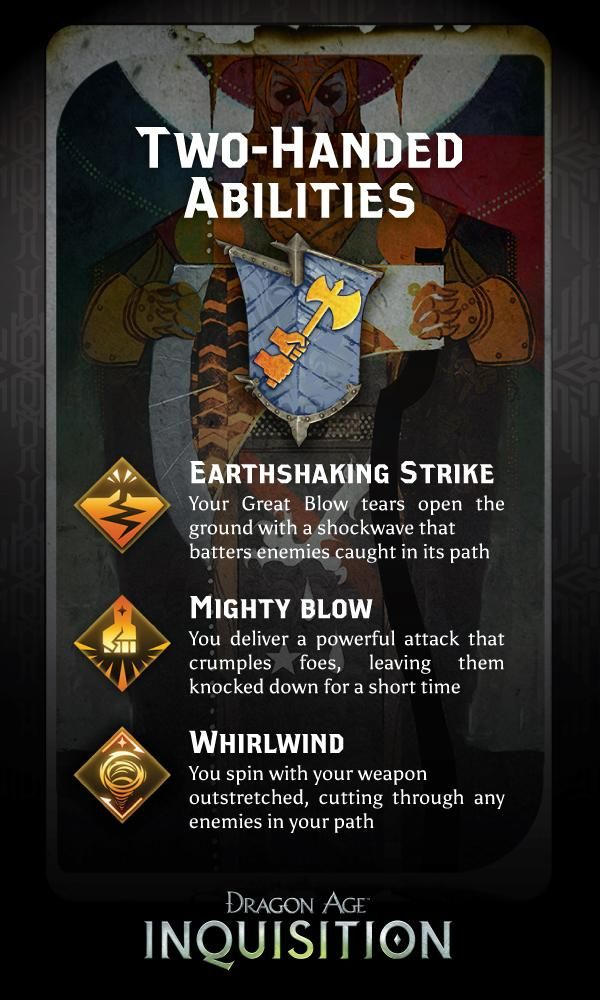 2-handed abilities