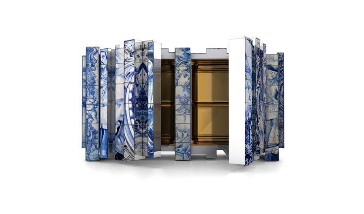 Aparador alto de diseño original    Decorar una casa    http://decorarunacasa.es/aparador-alto-de-diseno-original/#.UKyoVOOTuec