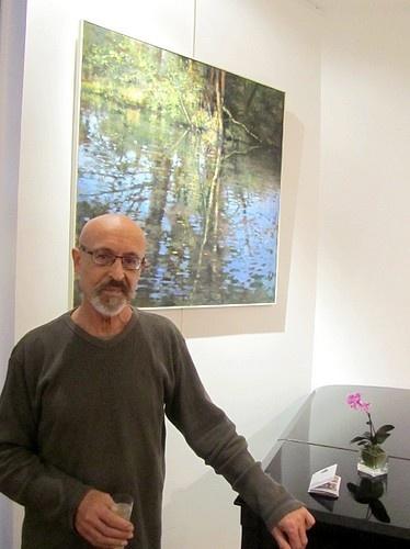 David Garcia's #paintings exhibition at the Jeu de Paume #Hotel