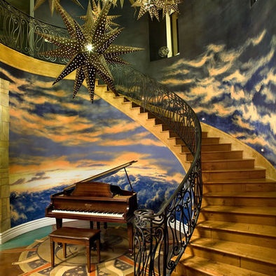 Google Image Result for http://st.houzz.com/fimages/196440_5541-w394-h394-b0-p0--eclectic-staircase.jpg