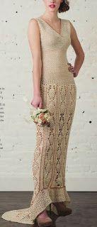 Tina's handicraft : wedding crocht dress
