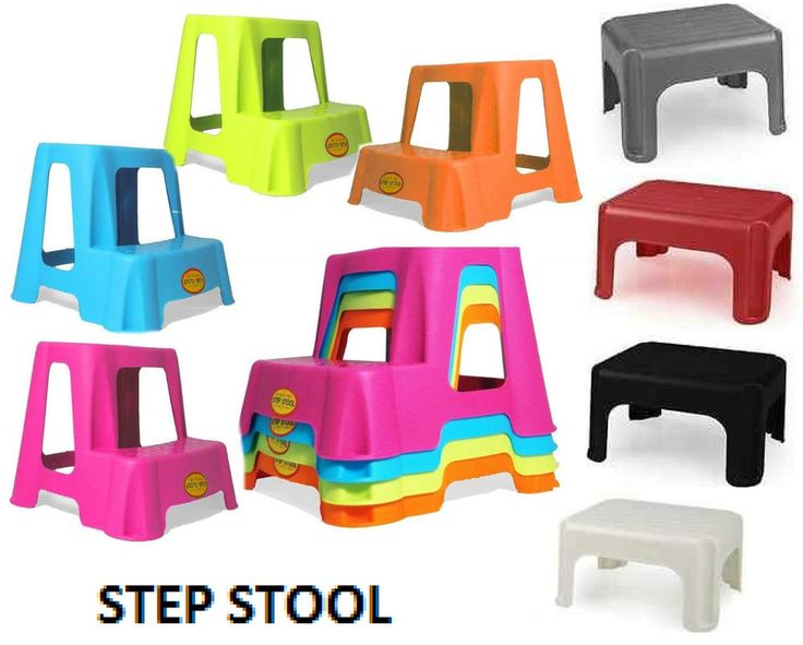 plastic step up stool children kids toilet potty training disability aid ladders