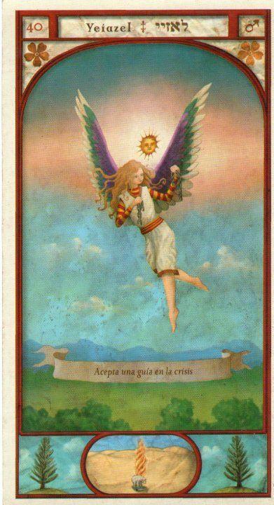 (40) YEIAZEL (Kabbalistic angel) protects those born 09 - 13 October, favors the arts. (ángel Cabalístico) protege aquellos nacidos 09 - 13 octubre, favorece las artes. Más