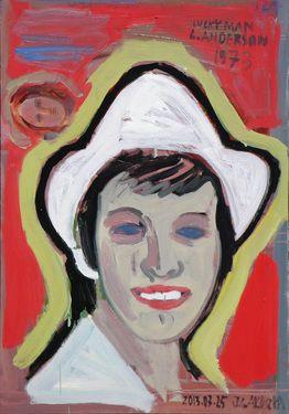 "Saatchi Online Artist Janusz Gałuszka; Painting, ""an important movie of 1973"" #art"