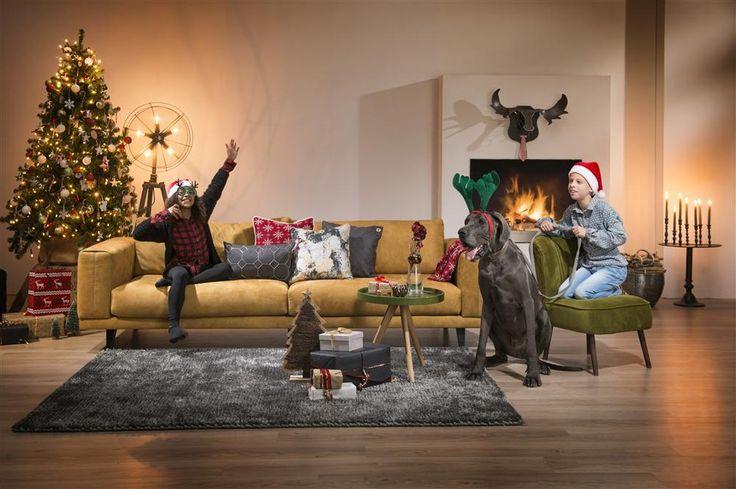 Collectie Prima-Lux en Idee+: woonkamer volledig in kerststemming!