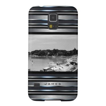 #Vintage France Nice Antibes The Garoupe beach Galaxy S5 Cover - #travel #trip #journey #tour #voyage #vacationtrip #vaction #traveling #travelling #gifts #giftideas #idea
