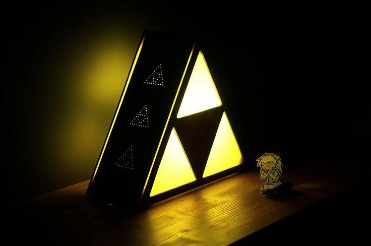 DIY : Construire une lampe de Triforce