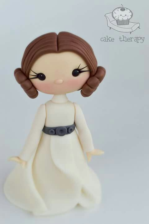 Princess Leia by Cake Therapy