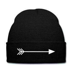 Arrow Beanie - Available Here: http://sondersky.spreadshirt.com.au/arrow-A18439086