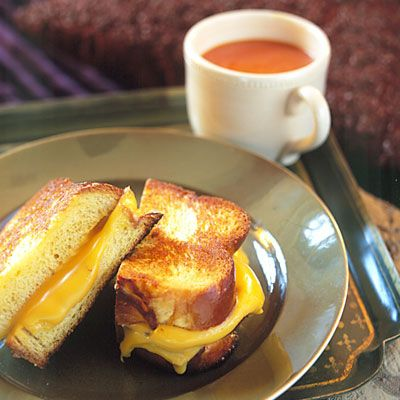 Gourmet Grilled Cheese ~ Guess what I'm making for lunch today!