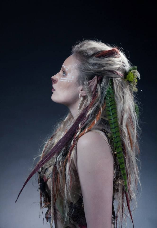 Titania the Lioness Warrior Hair and Makeup artist: Louise Ashton Photographer: Yassin Yassin Model: Amelia Clegg