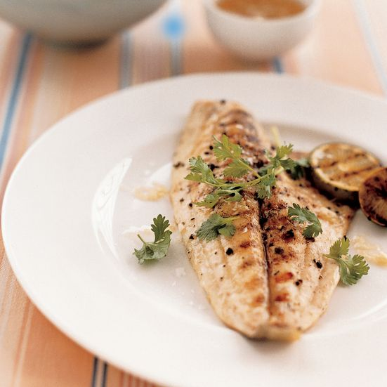 Grilled pompano with tangy ginger sauce recipe for Pompano fish recipes