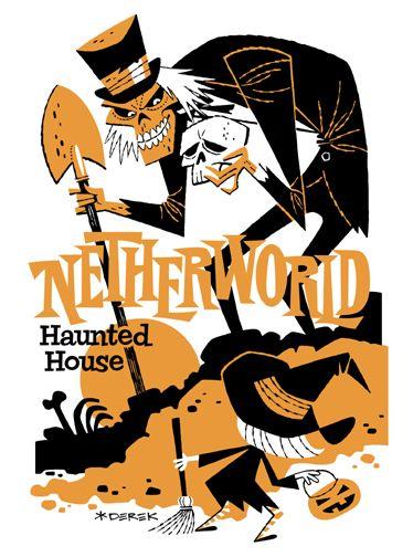 Art for Netherworld Haunted House in Atlanta