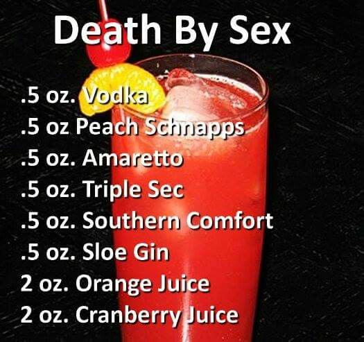 "What a way to go      ""Death By Sex"" ¬.!.."