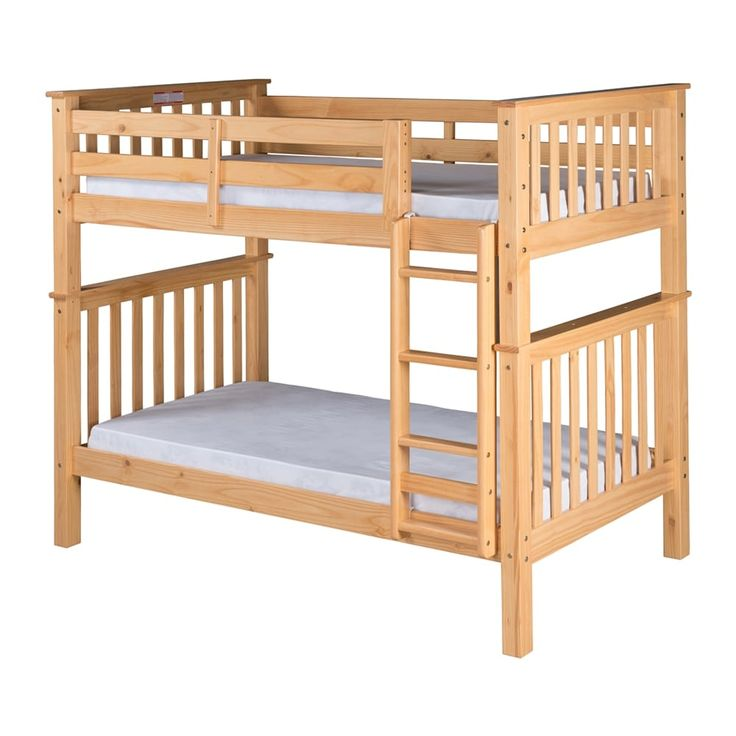 shop camaflexi santa fe mission tall bunk bed with attached ladder at the mine browse