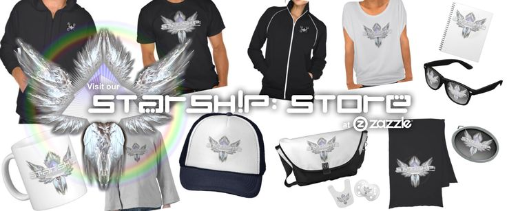 VISIT OUR STORE - Get awesome tees, hoodies and other cool stuff for creative, abundance-minded people here at our STARSHIP store at Zazzle. Click to visit! - http://www.zazzle.com/starship_store/gifts?st=ranking&sd=asc
