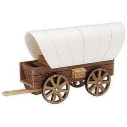 Covered wagon model kit woodworking projects plans for Covered wagon plans