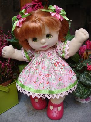 SEEDS of JOY MY CHILD DOLL CLOTHES: pink