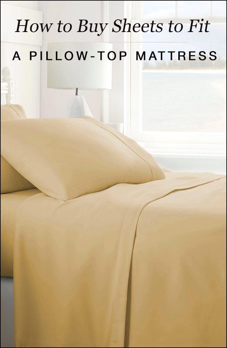 Queen Size Sheets for Pillow top Mattress