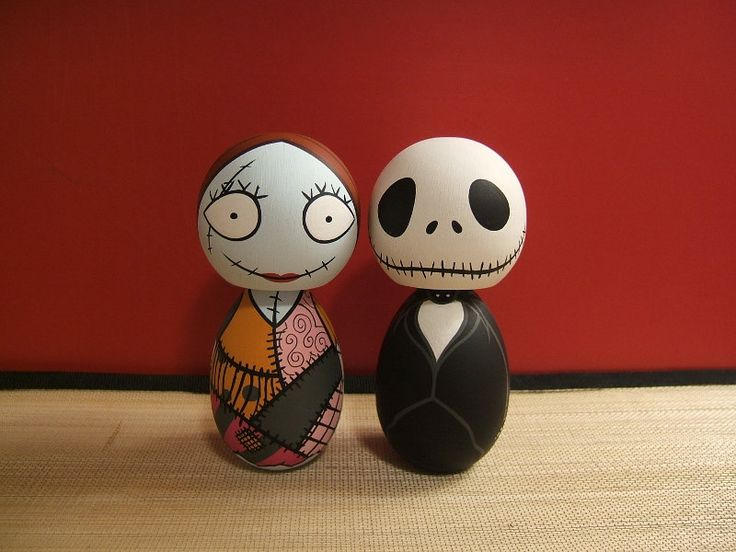 Kokeshi Clan, muñecos de madera inspirados en personajes de la cultura pop