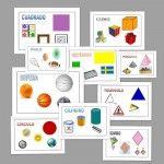Figuras geométricas. Recursos para imprimir y trabajar con los peques.