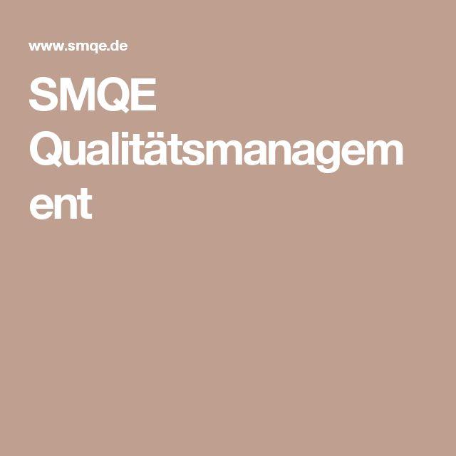 SMQE Qualitätsmanagement