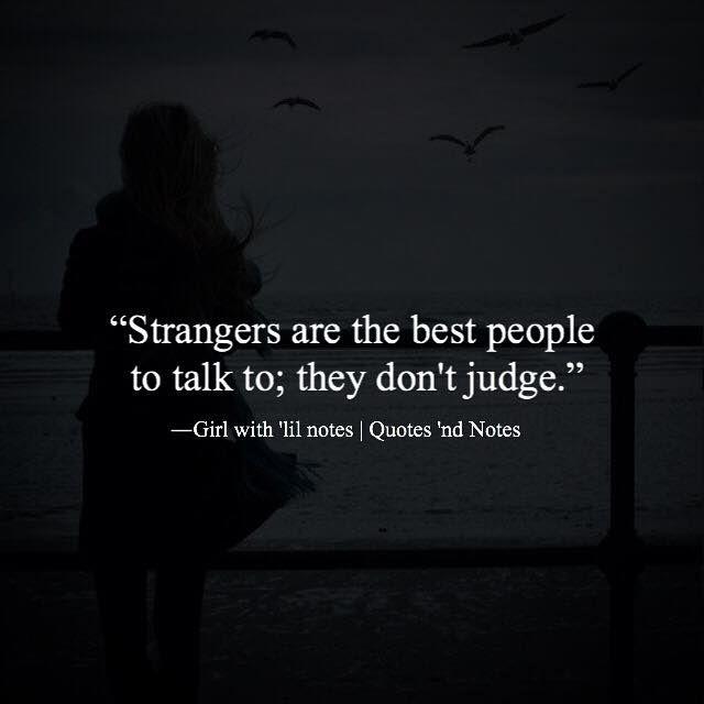 Talk to girl strangers