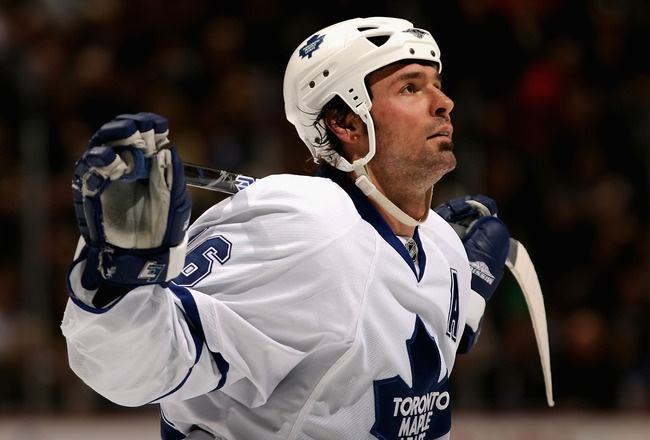 Darcy Tucker, former Toronto Maple Leaf