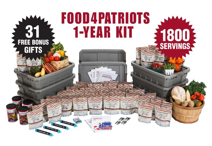 go 2 http://www.patriotheadquarters.com/giveaways/food4patriots-survival-food-sweepstakes-spring/?lucky=29253 for the Patriots Headquarters Blog Food4Patriots Survival Food Kit (1800 meals + bonuses) #giveaway #FreeFood