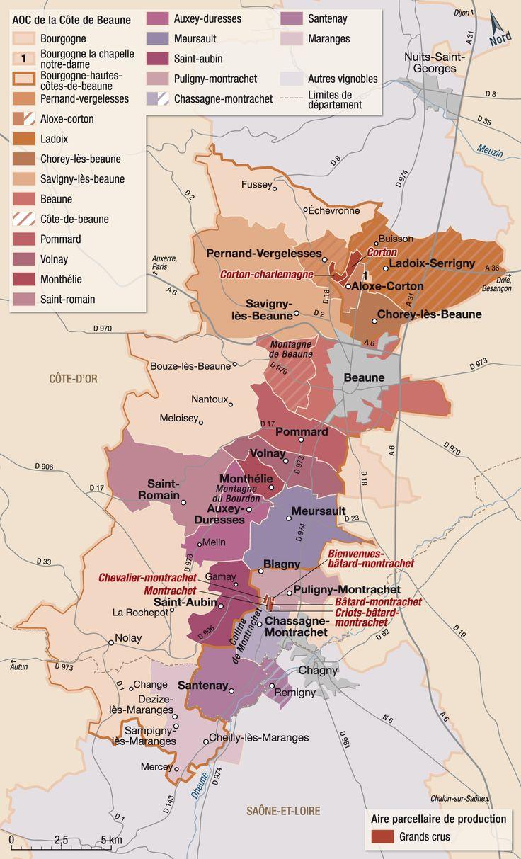 Bourgogne - cote de Beaune