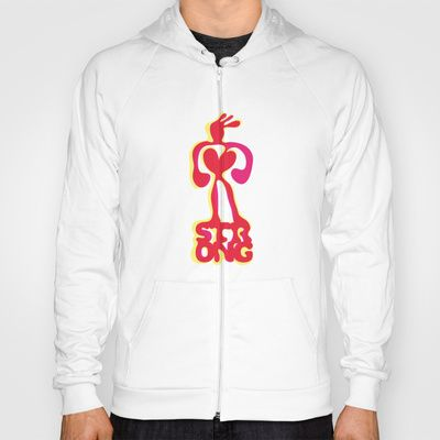 Strong! Hoody by Daily Thoughts - $38.00