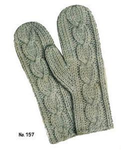 Ladies Mittens Knitting Pattern : Ladies Jiffy Mittens (free pattern from Free Vintage Knitting) Hook / ...