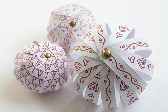 kreativ ötletbörze: Huszonkettedik nap: karácsonyfa díszek saját kezűleg