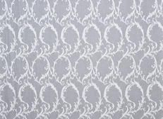Rococco Scroll 100% cotton lace Madras sheer in popular design.  See www.fabricconvention.com