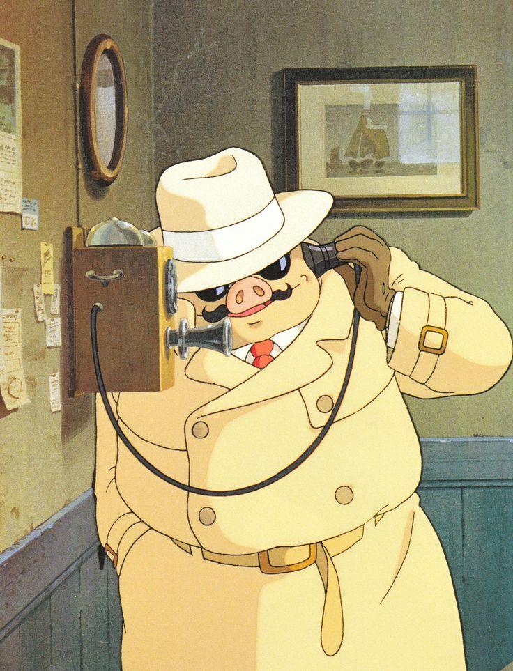 Un cerdo que no vuela es sólo un cerdo. Porco Rosso. Hayao Miyazaki