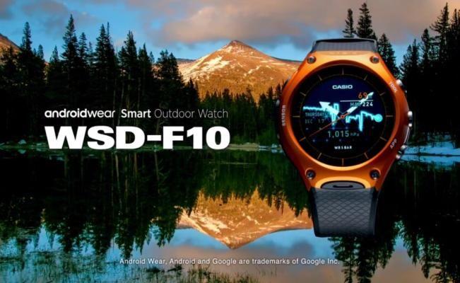 Casio presenta su primer smartwatch | El Universal