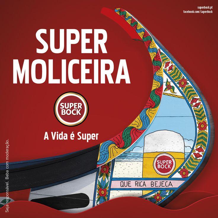 Super Bock, homenagem a Aveiro, moliceiro