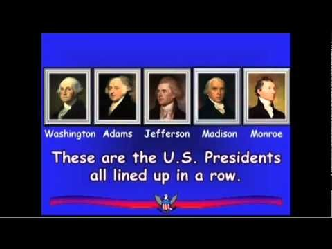 The Presidents Song by Sue Dickson