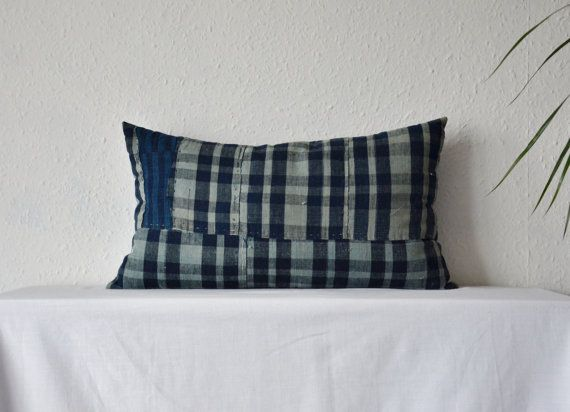 https://www.etsy.com/listing/203301775/boro-cushion-indigo-checked-japanese