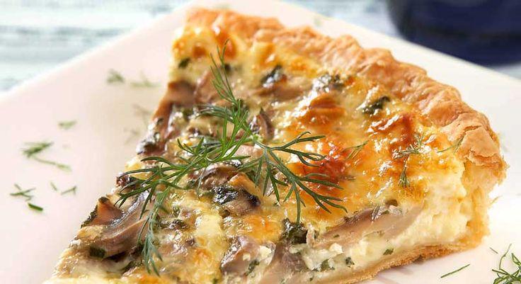 Μια φοβερή πίτα με πατάτες και μανιτάρια για χορτοφάγους και όχι μόνο... Καλή επιτυχία και καλή όρεξη!
