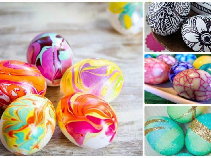 10+2 Διαφορετικές τεχνικές για να βάψεις τα πασχαλινά αυγα - Daddy-Cool.gr