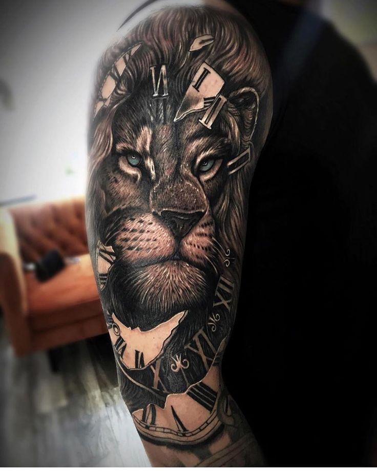 Tattoo #by #marseli_tattoo #love #animals #lion #l…