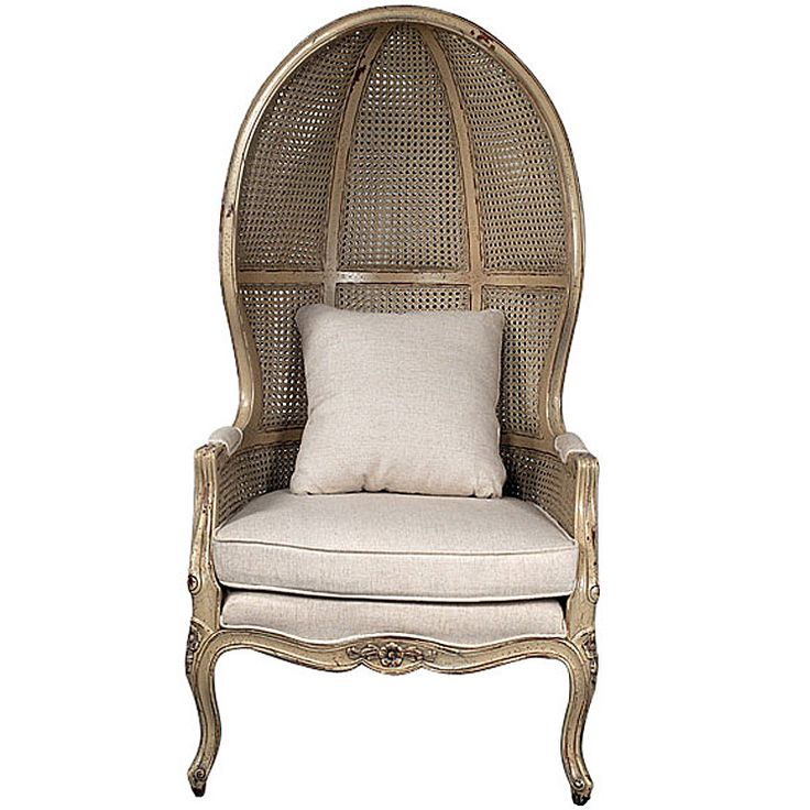 French Canopy Chair