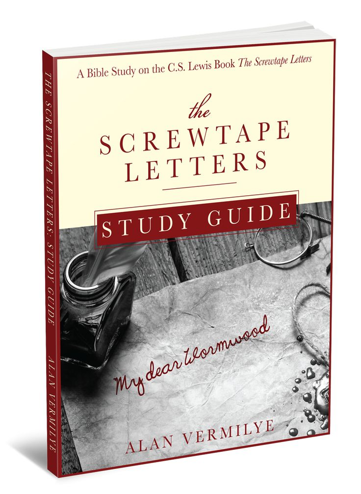 screwtape letters study essay Read this essay on cs lewis's screwtape letters analysis come browse our large digital warehouse of free sample essays get the knowledge you need in order to pass your classes and more.