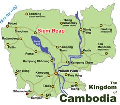 Phnom Penh Cambodia | Introduction, Guide to Hotels, Dining, Nightlife, Sights, Shopping and Map