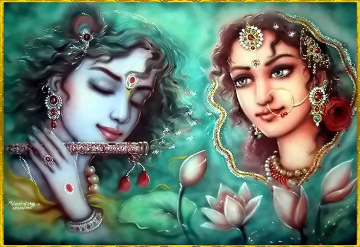 krishna radha romantic images - Google Search